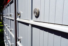 Canadian Mailboxes Royalty Free Stock Image