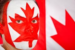 Canadian man Royalty Free Stock Images