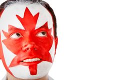 Canadian man Stock Photo