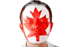 Canadian man Royalty Free Stock Image