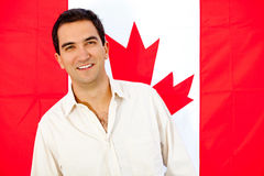 Canadian man Royalty Free Stock Photo