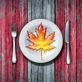 Canadian Maple Syrup Royalty Free Stock Photos