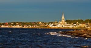 Canadian Marine landscape Stock Image