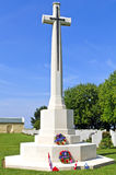 Canadian memorial and cemetery in Normandy Royalty Free Stock Image