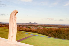The Canadian memorial at Vimy France World War 1. Stock Image