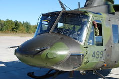 Canadian Military Helicopter Stock Photos