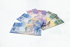 Canadian Money Stock Photo
