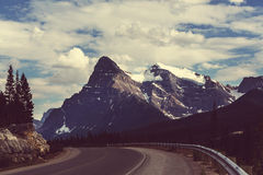 Canadian mountains Stock Image