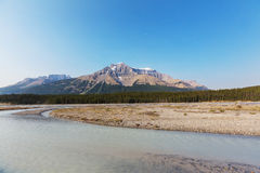 Canadian mountains Royalty Free Stock Images
