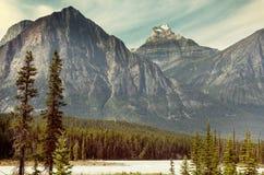 Canadian mountains Stock Photos