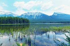 Canadian mountains Stock Photo