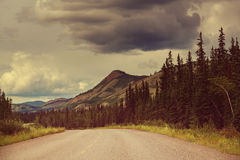Canadian mountains Royalty Free Stock Photography