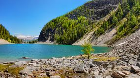 Canadian Mountains, Scenic Landscapes Stock Photo