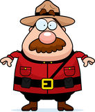 Canadian Mountie stock illustration