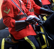 Canadian Mountie Stock Image