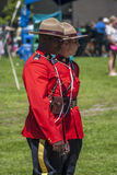 Canadian Mounties in Red Serge Royalty Free Stock Photo
