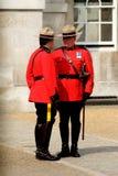 Canadian Mounties Royalty Free Stock Photos