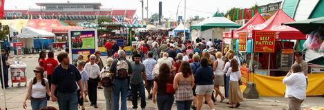 Canadian national exhibition Royalty Free Stock Photos