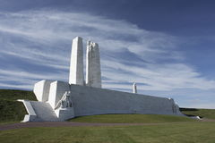 Canadian National Vimy Memorial. Front shot of Canadian National Vimy Memorial Stock Images