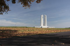 Canadian National Vimy Memorial. Distant shot of Canadian National Vimy Memorial Royalty Free Stock Photography