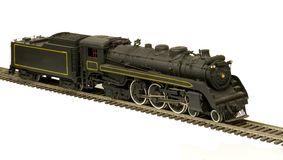 Canadian pacific brass model Stock Photos
