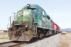 Canadian Pacific Engine Royalty Free Stock Photography