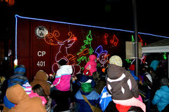 Canadian Pacific Holiday Train Royalty Free Stock Photos