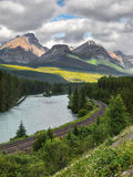 Canadian Pacific Railway Stock Image