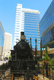 Canadian Pacific Railway Locomotive 29 in Calgary Stock Photography