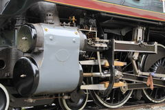 Canadian Pacific steam train royalty free stock photos