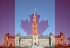 Canadian Parliament Royalty Free Stock Photos
