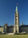 Canadian parliament. Building in Ottawa (E-1 + olympus zuiko 24mm F2.8 royalty free stock image