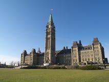 Canadian parliament Stock Photos