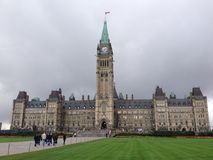 Canadian parliament Royalty Free Stock Photography