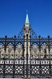 Canadian Parliament Building in Ottawa Royalty Free Stock Images