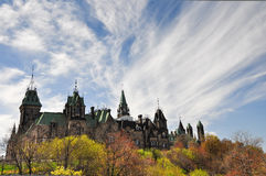The Canadian Parliament Building in Ottawa Stock Photo