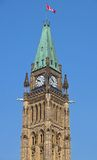Canadian Parliament Buildings In Ottawa Royalty Free Stock Photo