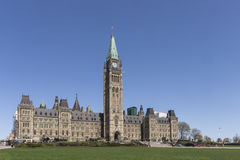 Canadian Parliament Buildings Royalty Free Stock Images
