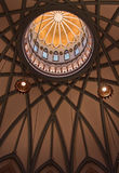 Canadian Parliament dome. Details of the interior dome and cupola in the Parliament building, Ottawa, Canada Stock Photos