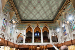 Canadian Parliament: the House of Commons. The House of Commons of the Canadian Parliament in Ottawa, Canada. The view on the balcony for the public, and the Stock Images