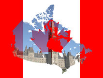 Canadian Parliament Ottawa Royalty Free Stock Photography