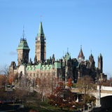 Canadian Parliament Ottawa Royalty Free Stock Photo