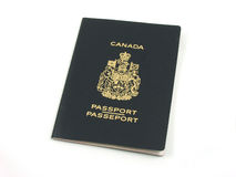 Canadian passport Royalty Free Stock Images
