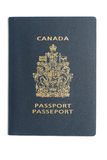 Canadian passport Royalty Free Stock Photos