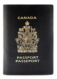 Canadian passport. Canadians travelling to the United States will now be required to show their passport to border guards in compliance with the Western stock image