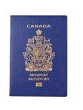 Canadian passport Stock Photos