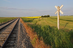 Canadian Prairie Stock Photo