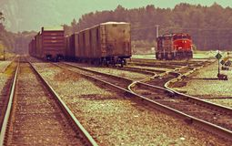 Canadian Railroads Royalty Free Stock Photos