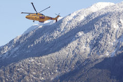 Canadian Rescue Helicopter Royalty Free Stock Photography