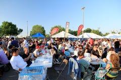 Canadian Rib Fest Stock Photo